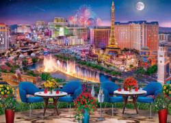 Las Vegas Living Las Vegas Jigsaw Puzzle