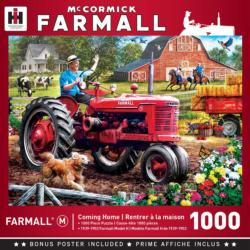 Coming Home Farmall Jigsaw Puzzle