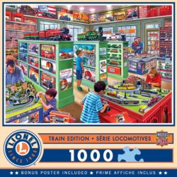 The Lionel Store Shopping Jigsaw Puzzle