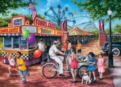 Summer Carnival Nostalgic / Retro Jigsaw Puzzle