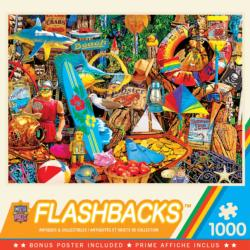 Beach Time Flea Market Shopping Jigsaw Puzzle