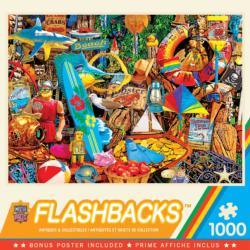 Beach Time Flea Market Shopping Jigsaw Puzzle