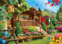 Summerscape Cottage / Cabin Jigsaw Puzzle