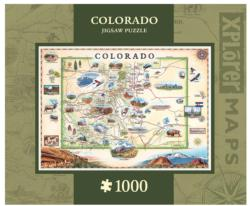 Colorado - Scratch and Dent United States Jigsaw Puzzle