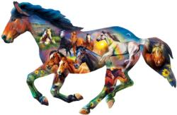 Wild Horse - Scratch and Dent Horses Jigsaw Puzzle