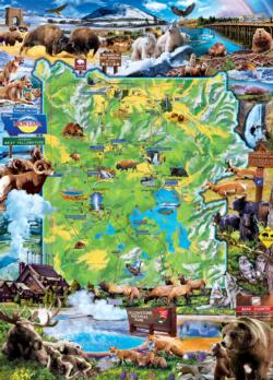 Yellowstone National Parks Jigsaw Puzzle