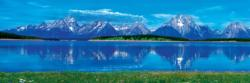 Grand Tetons Monuments / Landmarks Panoramic Puzzle