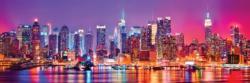 New York 1,000 Piece Panoramic Puzzle New York Panoramic Puzzle