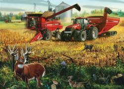 Teamwork Farm Jigsaw Puzzle