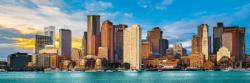 Boston Skyline / Cityscape Panoramic Puzzle