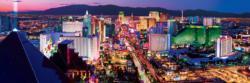 Las Vegas 1,000 Piece Panoramic Puzzle Las Vegas Panoramic Puzzle