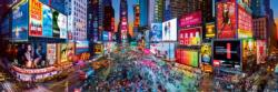 Times Square 1,000 Piece Panoramic Puzzle New York Panoramic Puzzle