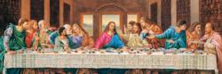 Last Supper Religious Panoramic Puzzle