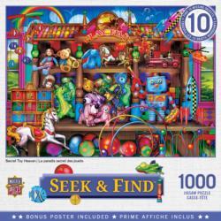 Secret Toy Heaven Domestic Scene Jigsaw Puzzle