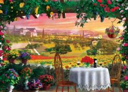 Tuscany Hills View Italy Jigsaw Puzzle