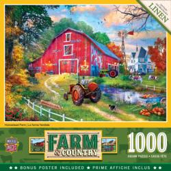 Homestead Farm Farm Jigsaw Puzzle