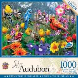 Morning Garden Birds Jigsaw Puzzle