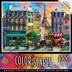 Paris Streets Eiffel Tower Jigsaw Puzzle