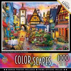 Bavarian Flower Market Europe Jigsaw Puzzle