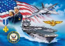 U.S. Navy Anchors Aweigh Military / Warfare Jigsaw Puzzle