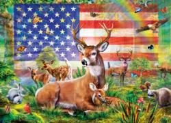 Radiant Country United States Jigsaw Puzzle