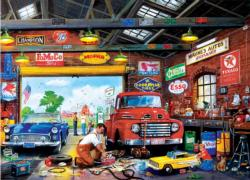Wayne's Garage Nostalgic / Retro Jigsaw Puzzle