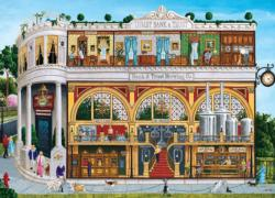 Bank & Brew Shopping Jigsaw Puzzle