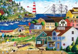 Summer Breeze Seascape / Coastal Living Jigsaw Puzzle