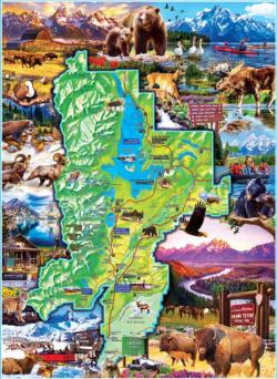 Grand Teton National Parks Jigsaw Puzzle