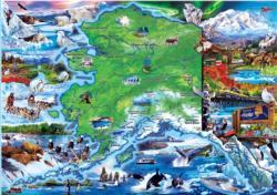 Alaska National Parks Jigsaw Puzzle