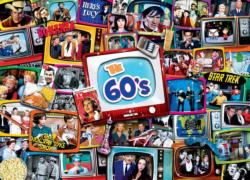 60s Shows Collage Jigsaw Puzzle