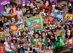70s Shows Collage Jigsaw Puzzle