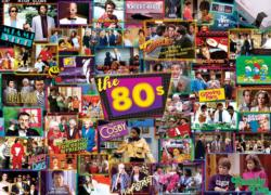 80s Shows Collage Jigsaw Puzzle
