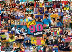 90s Shows Collage Jigsaw Puzzle