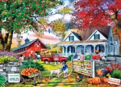 Apple Tree Farm Farm Jigsaw Puzzle