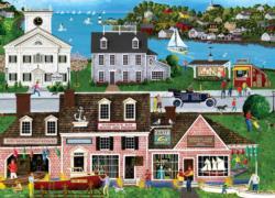 Hammock Bay Seascape / Coastal Living Jigsaw Puzzle
