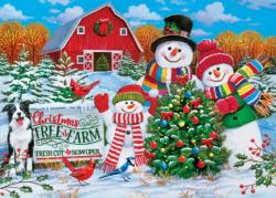 Holiday Tree Farm Christmas Jigsaw Puzzle