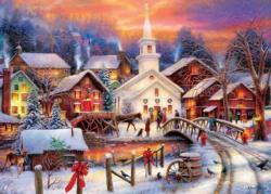 Hope Runs Deep Snow Jigsaw Puzzle