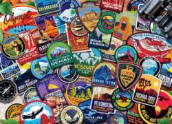 Patches National Parks Jigsaw Puzzle