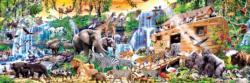 Noah's Ark Religious Panoramic Puzzle