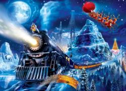 Polar Express Race to the Pole Christmas Jigsaw Puzzle