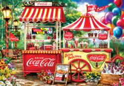 Coca-Cola Stand - Scratch and Dent Food and Drink Jigsaw Puzzle