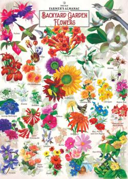 Garden Florals Flowers Jigsaw Puzzle