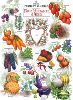 Fruits & Vegetables Food and Drink Jigsaw Puzzle