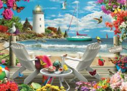 Memory Lane - Coastal Escape 1000pc Puzzle Beach Jigsaw Puzzle