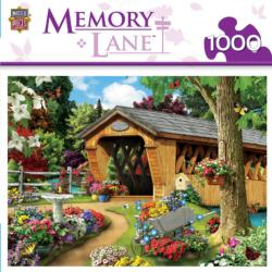 Memory Lane - Garden Bridge Bridges Jigsaw Puzzle