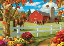 Memory Lane - Pastures of Chance 1000pc Puzzle Farm Jigsaw Puzzle