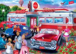 Diner Nostalgic / Retro Jigsaw Puzzle