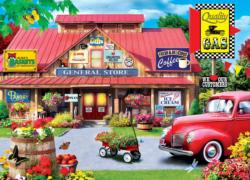 A Touch of Nostalgia General Store Jigsaw Puzzle