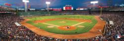 Boston Red Sox Baseball Panoramic Puzzle